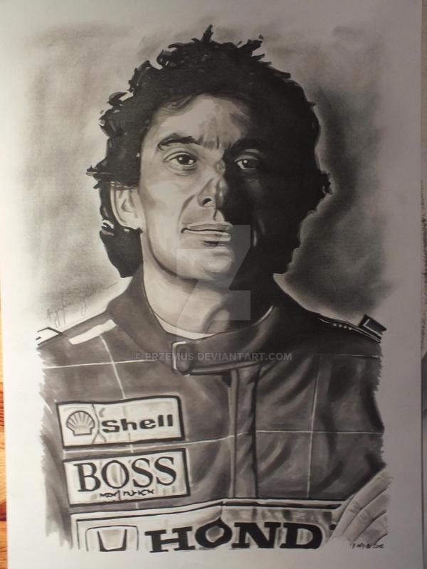 Ayrton Senna by przemus