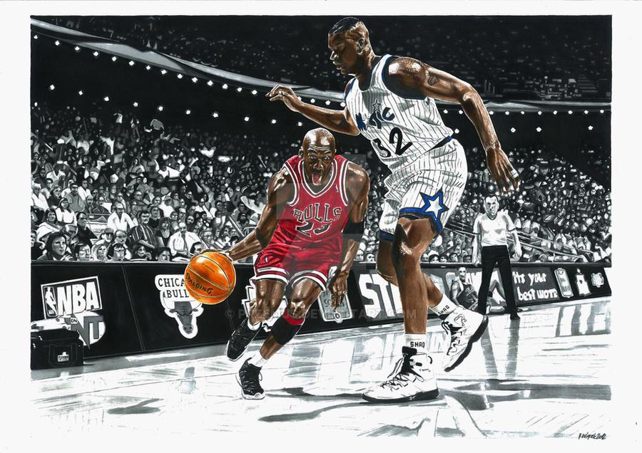 Michael Jordan by przemus on DeviantArt
