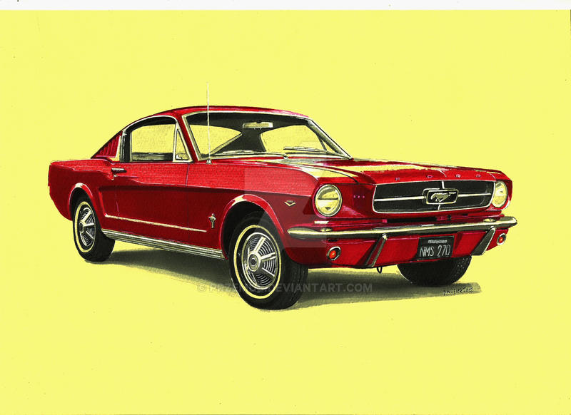 1965 Ford Mustang Fastback by przemus