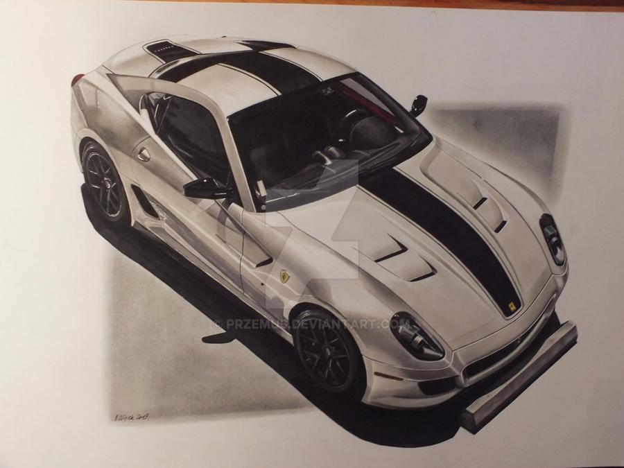 Ferrari 599 GTO by przemus