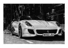 599 GTO by przemus