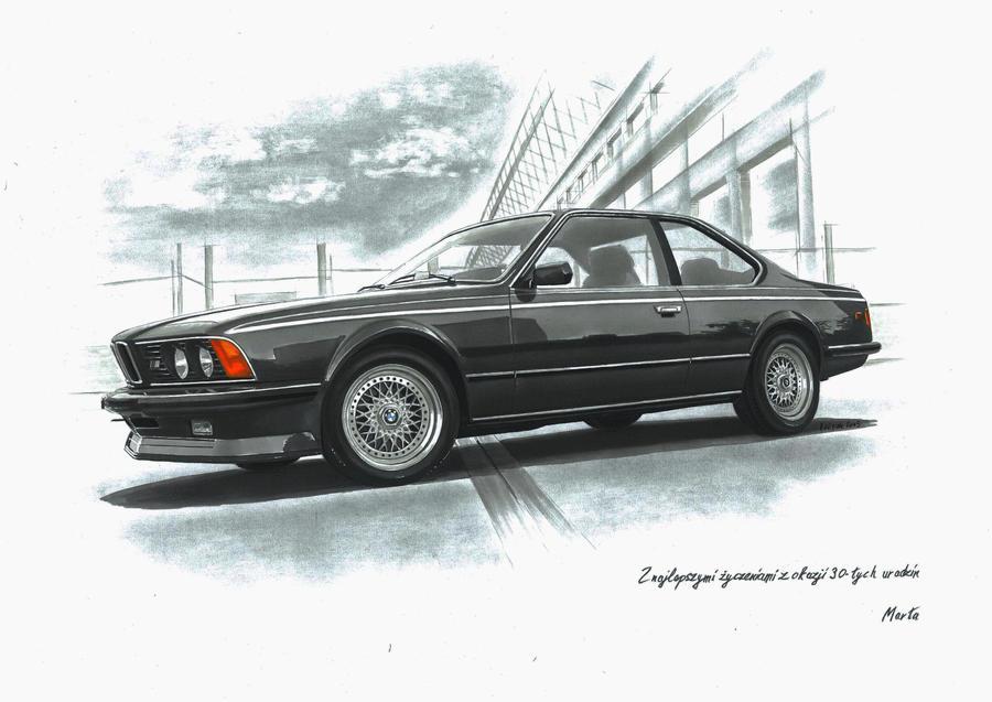 BMW e24 635 csi by przemus