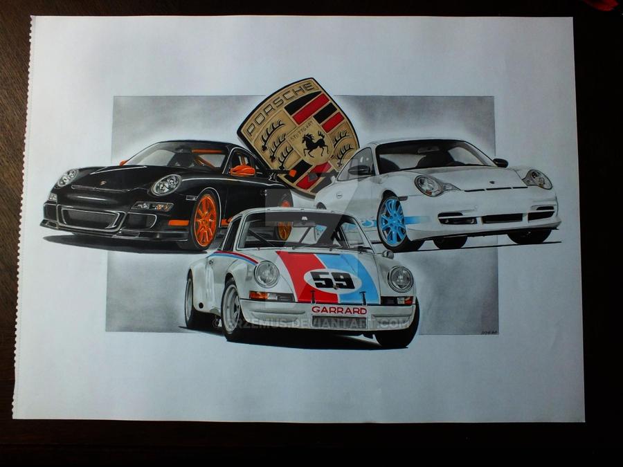 Porsches by przemus
