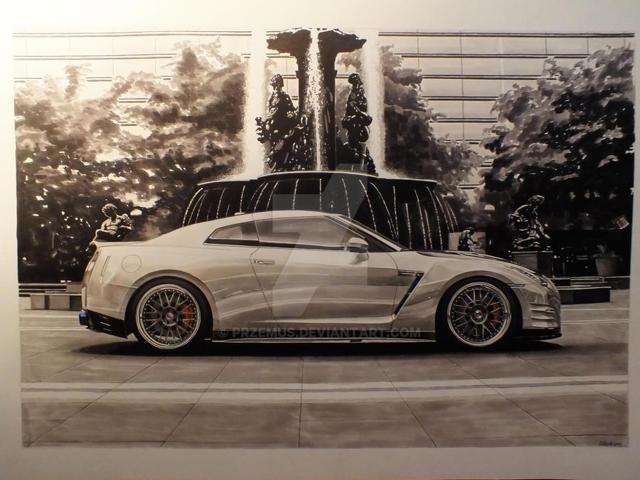 Nissan GTR1 by przemus