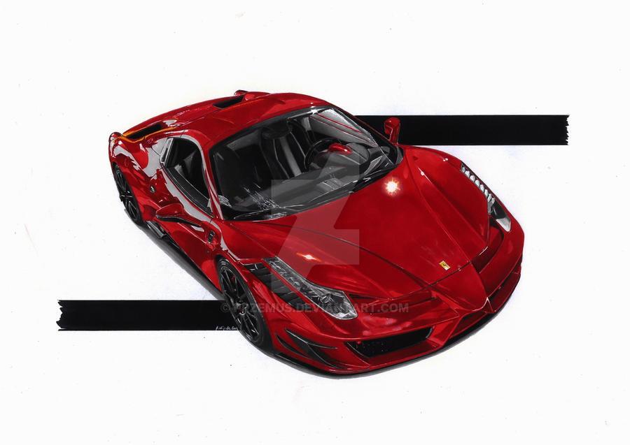 Ferrari Italia 458 Spider Monaco Edition by przemus