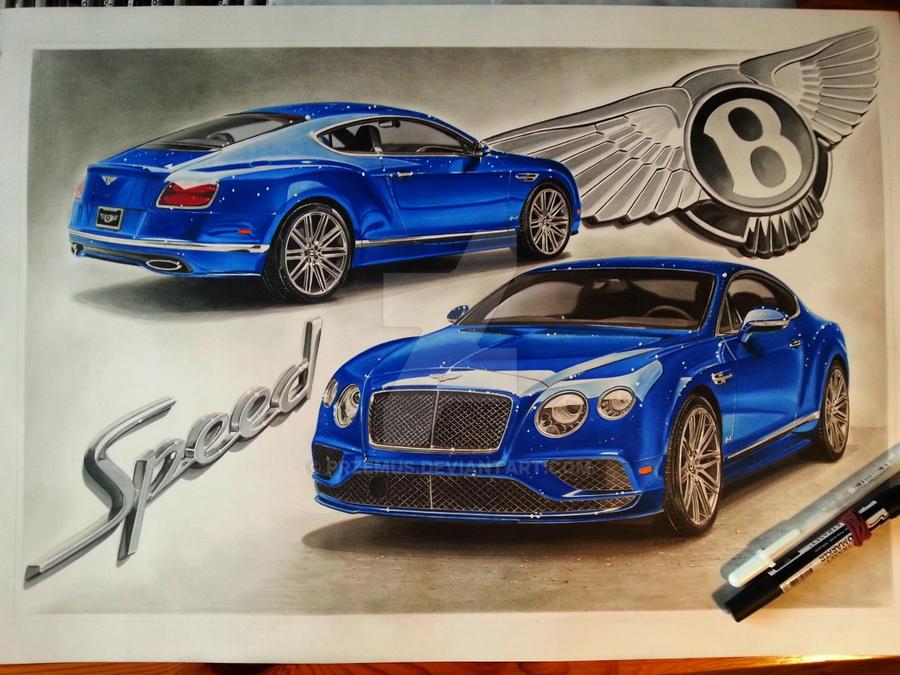 2016 Bentley Continental Gt Speed By Przemus On Deviantart