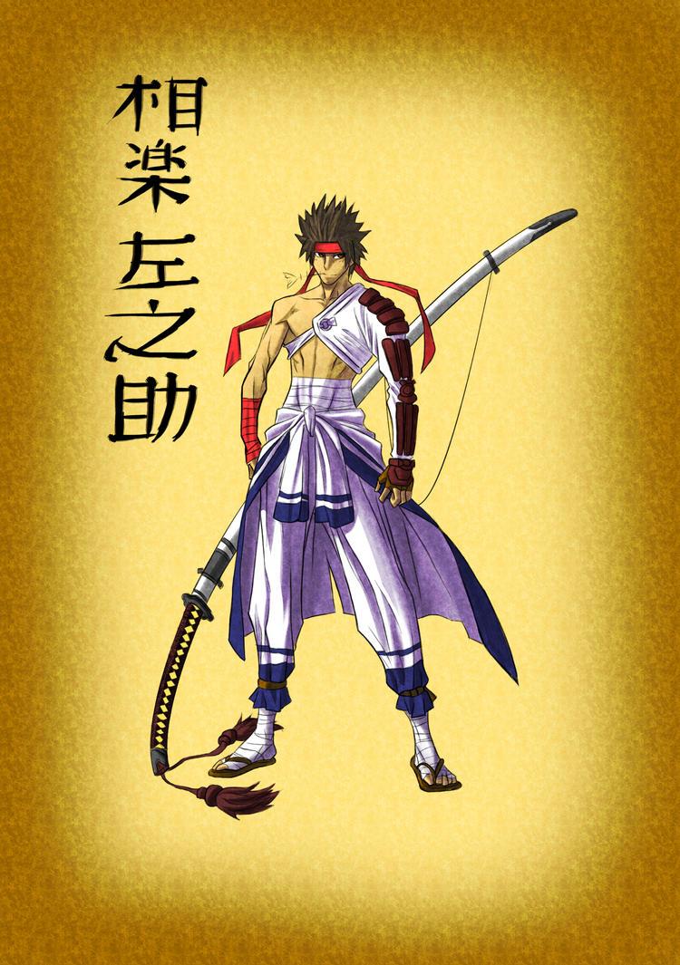 sagara sanosuke by kenshingumi559 on deviantart