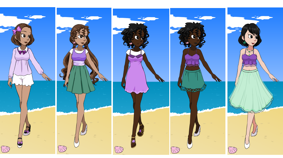 Modern ariel dress up game by ceciliaa12345 on deviantart