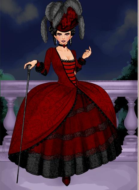 Rococo Costume lll by ceciliaa12345