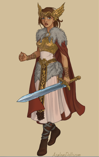 Viking woman by ceciliaa12345