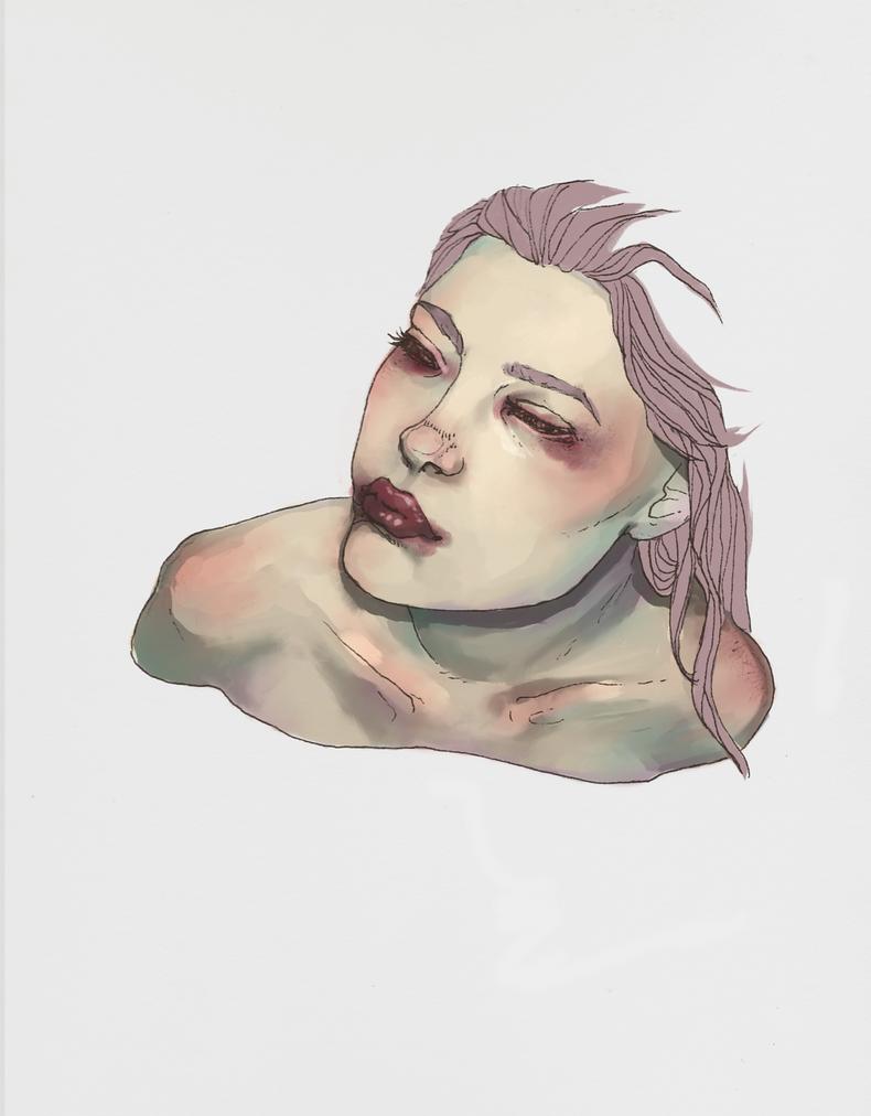 Lake Girl Progress by Hello-Marshmallow