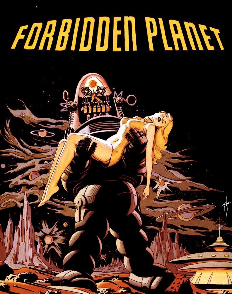 Resultado de imagen de forbidden planet