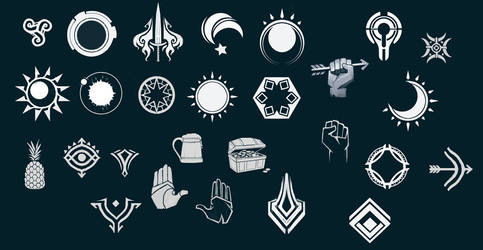 Abstract Emblems