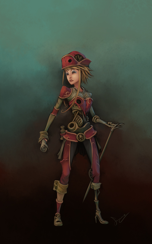 Steam Pirate by SamYangArt