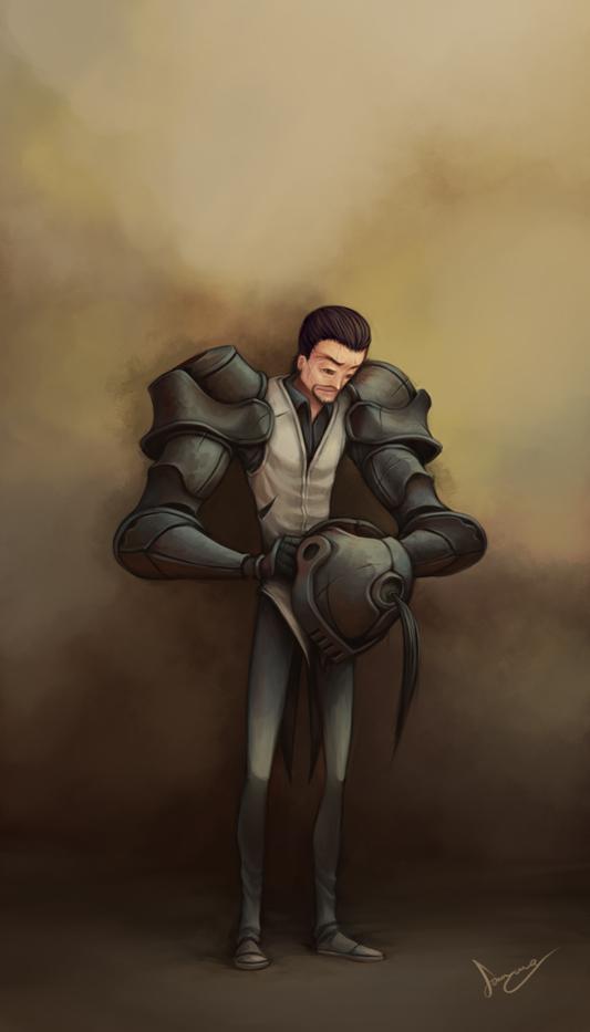 Veteran by SamYangArt