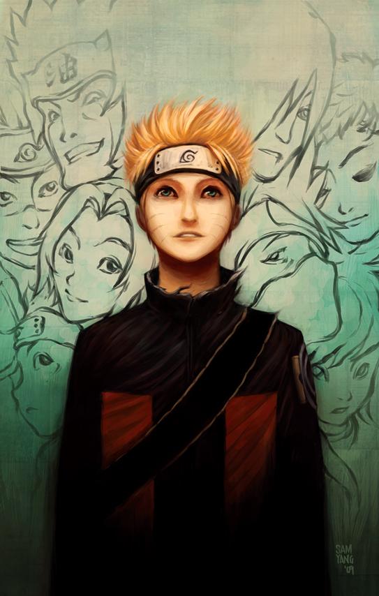 Uzumaki Naruto by SamYangArt