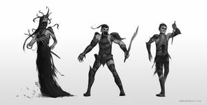 Egyptian Character Designs