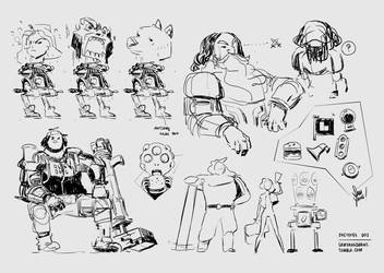 Sketchity Sketches by SamYangArt