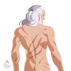 Sketch of Geralt