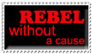 Rebel Without A Cause Stamp by Campanitta