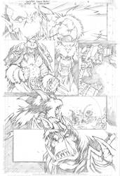 Warcraft comics1 pencils 4 by LudoLullabi
