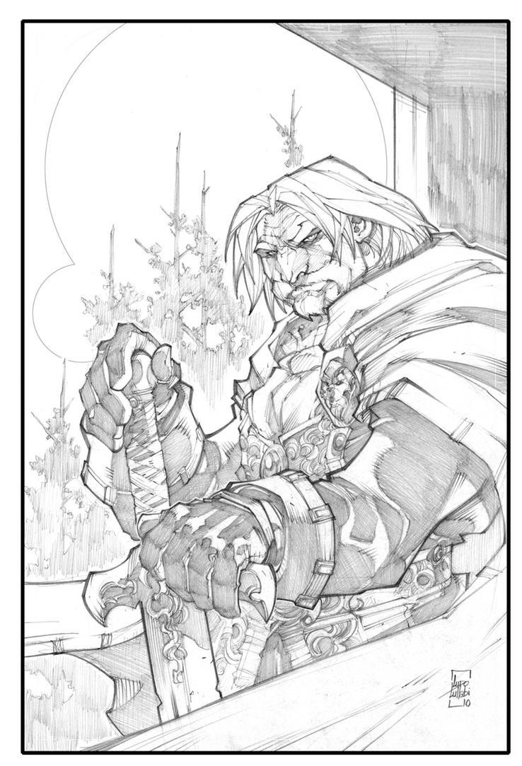 Warcraft-Genn Greymane by LudoLullabi - 189.8KB