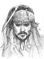 Jack Sparrow by LudoLullabi