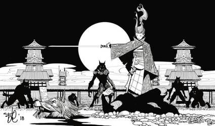 Francesco-la-cerva-werewolf-hunter by FrancescoLaCerva