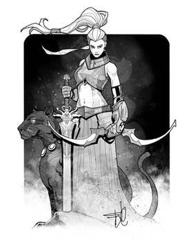 Fantasy female character