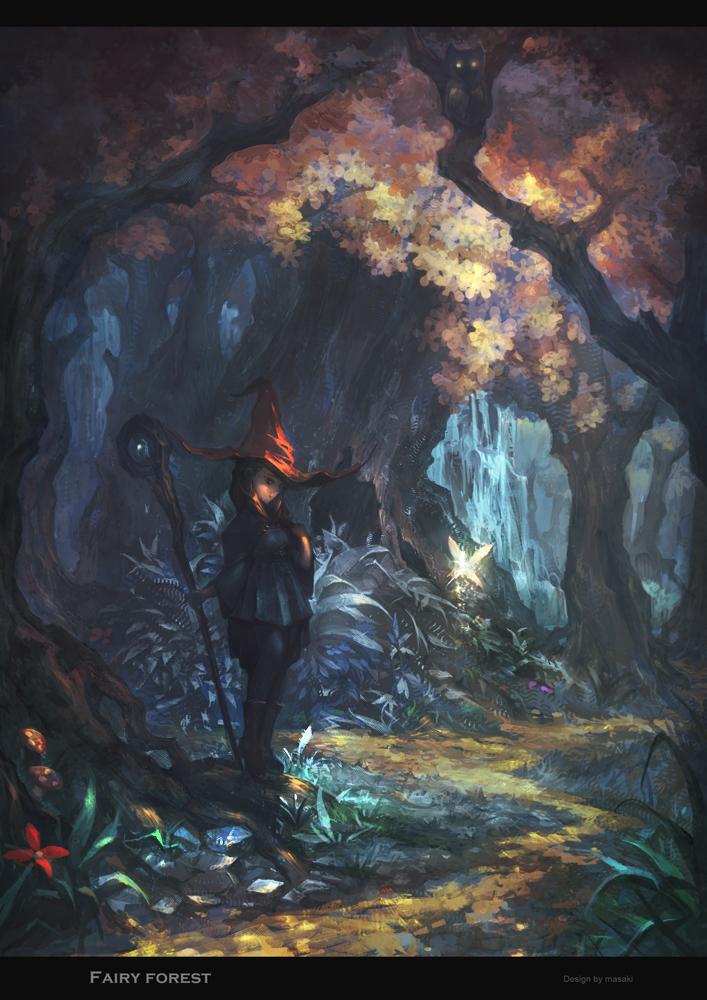 Fairy Forrest by masaki768