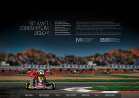 Karting Circuit Ad - 2 by malburian