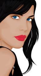 Portrait by freeda