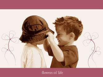 Flowers Of Life by freeda