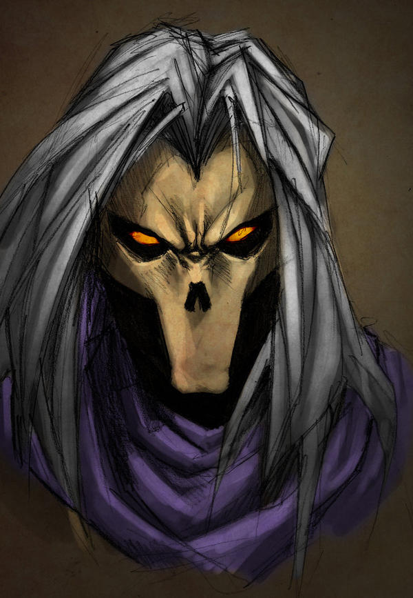 Death - Darksiders by Dastan-prince