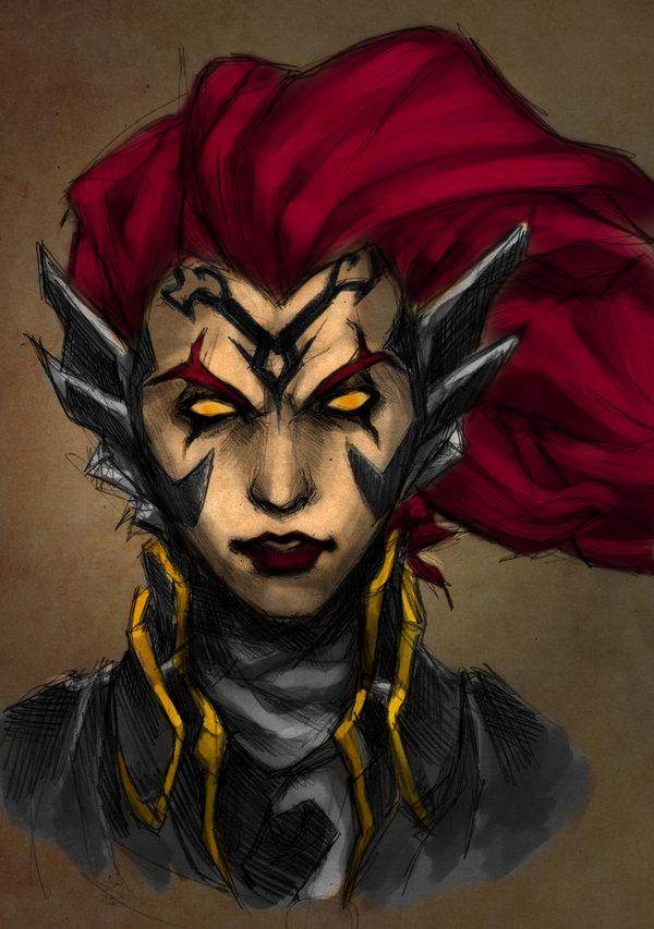 Fury - Darksiders by Dastan-prince
