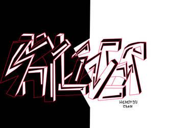 Skyliner vector graffiti by pro55series