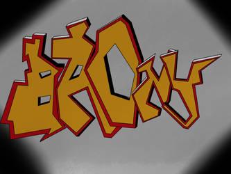 Brony Graffiti by pro55series