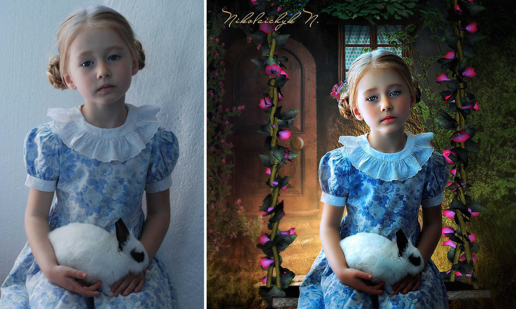 A Girl with a Bunny/BA by ChanelAllure
