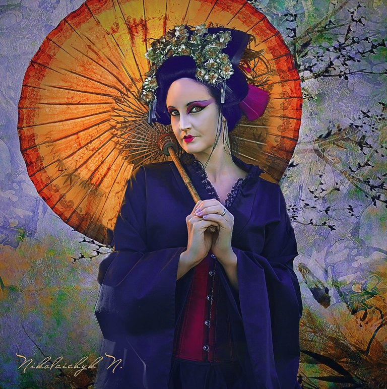 A Lady with a Parasol by ChanelAllure