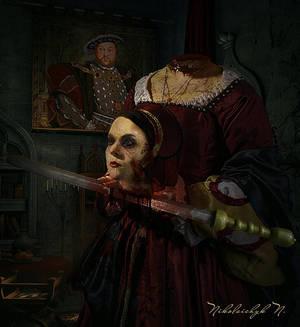The Apparition of Anna Boleyn by ChanelAllure