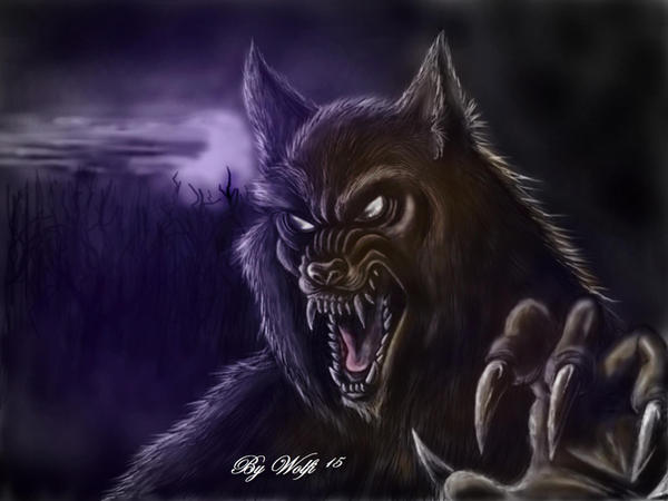 werewolf bite by MRmoonWolf