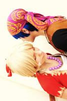 Chrono Cross: Serge and Kid 2 by sweetakina