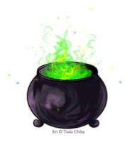 Fanciful Cauldron by TasiaChiba