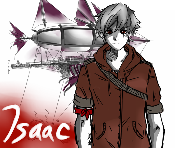 Sketchy Sketchs: Isaac the Sky King by AerinBoy