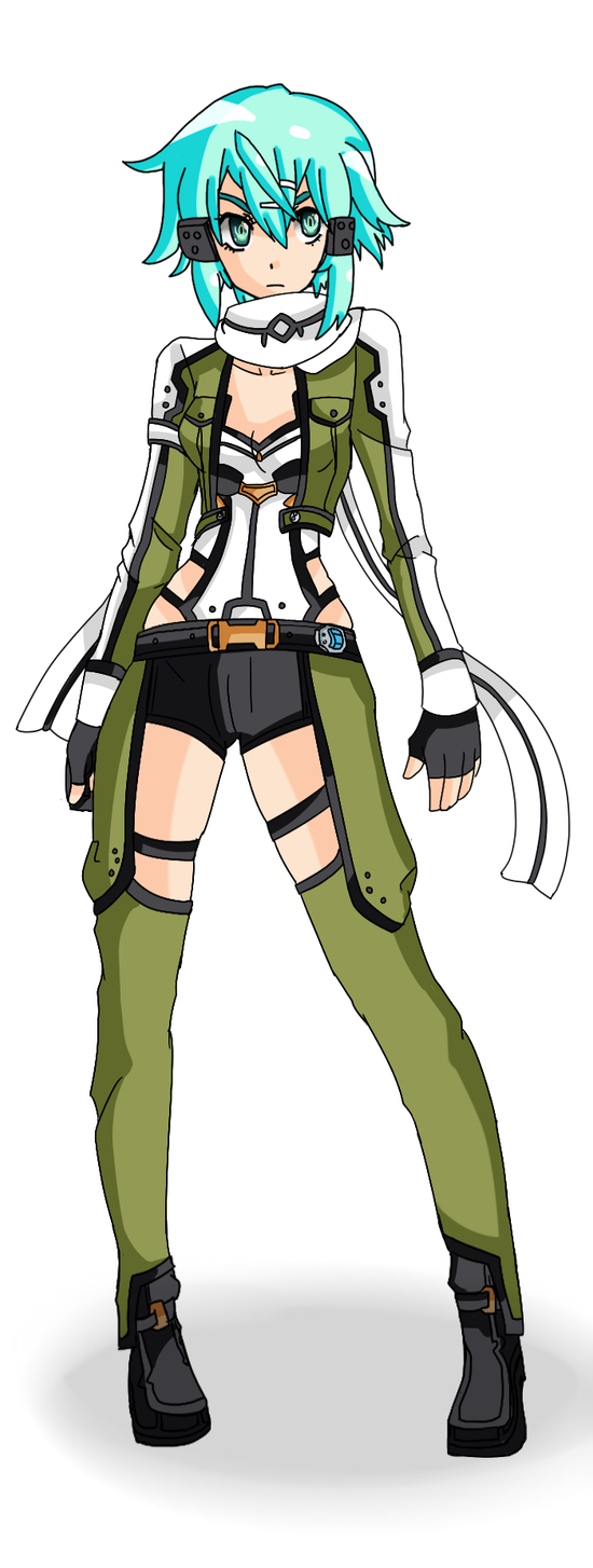 Sinon Colours by AerinBoy