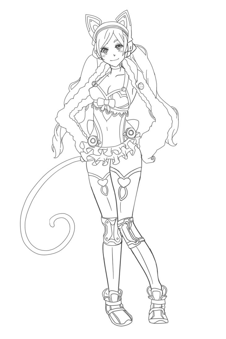 Lucky Chloe Sketch! by AerinBoy