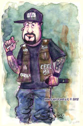 B-real of Cypress Hill by marisangoea