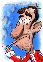 smoking driver by marisangoea