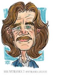 William Hall Macy Jr. Caricature