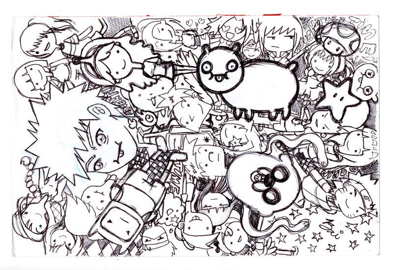 Inktober Doodles by kaoruUYH